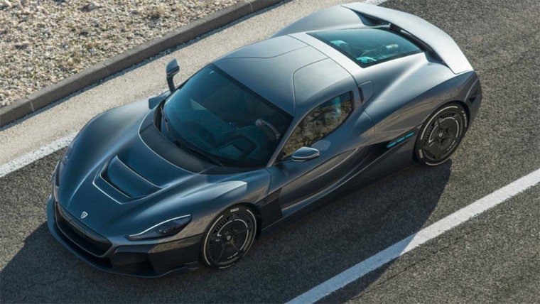 The Rimac Concept Two can pump out a neck-snapping 2,000 hp.