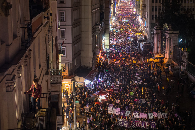 Image: International Women's Day Celebrated in Istanbul