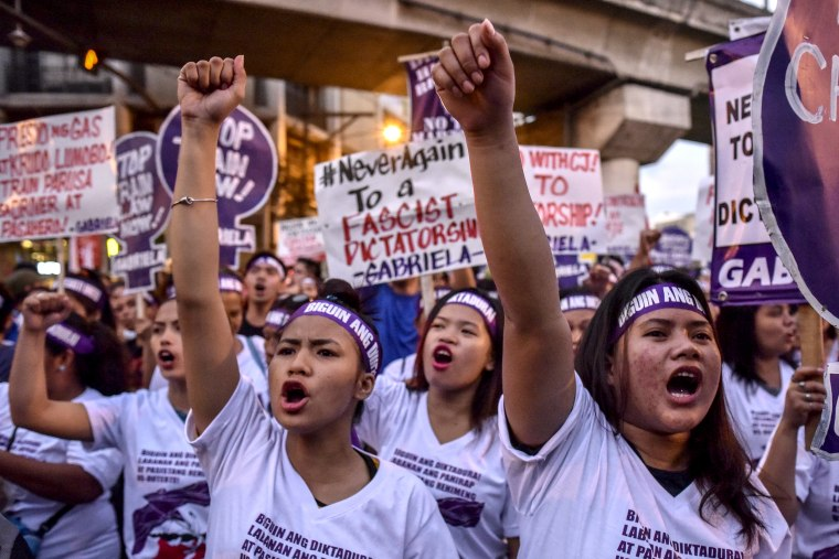 Image: International Women's Day March 2018 in Manila