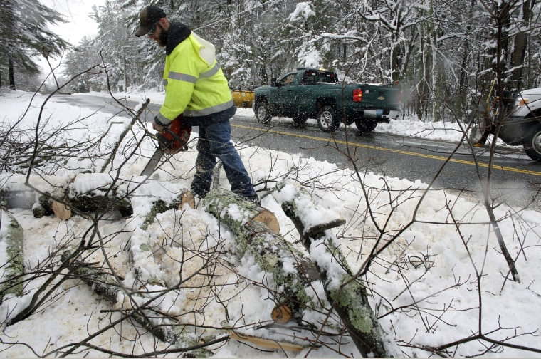 Image: Northeast power outages