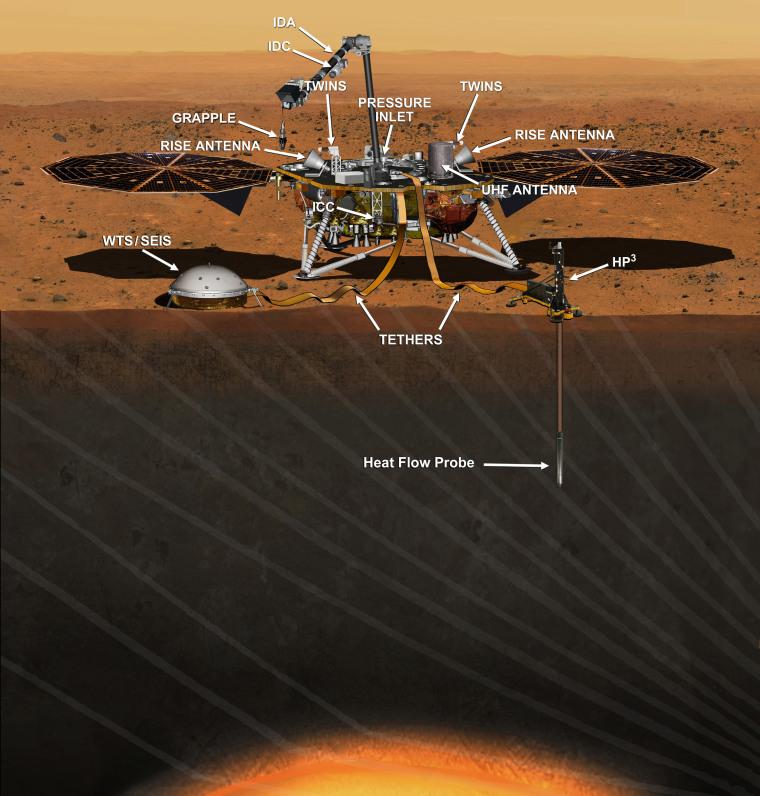 Image: InSight lander on Mars