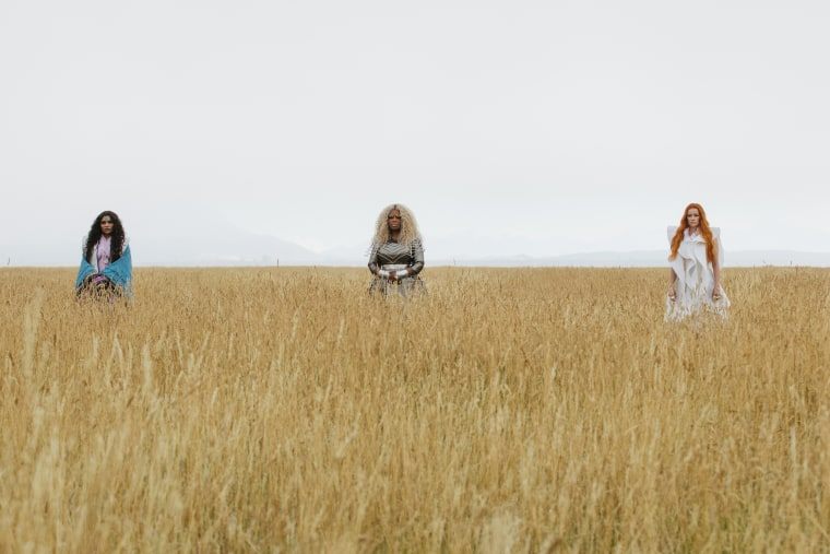 Image: Oprah Winfrey is Mrs. Which, Reese Witherspoon is Mrs. Whatsit and Mindy Kaling is Mrs. Who in Disney's A WRINKLE IN TIME.