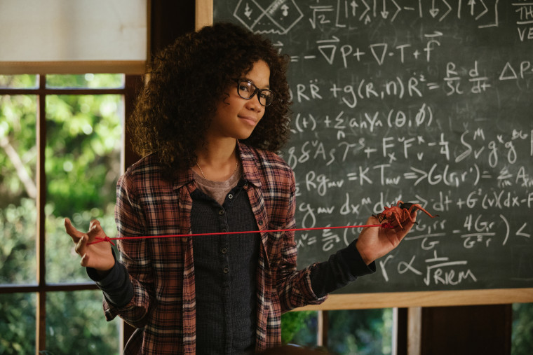 ImagE:Storm Reid is Meg Murry in Disney's A WRINKLE IN TIME,  an epic adventure based on Madeleine L'Engle's timeless classis.