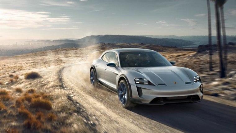 The Porsche Mission E Cross Turismo makes 600 hp.