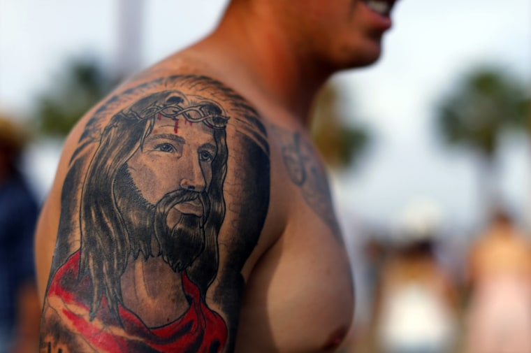 Image: Tattoo of Jesus Christ