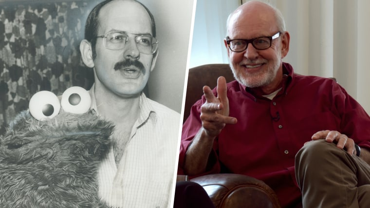 The cookie Monster and his companion; Frank Oz; yesterday talked with Star staff writer Sid Adilman / Muppets Talking