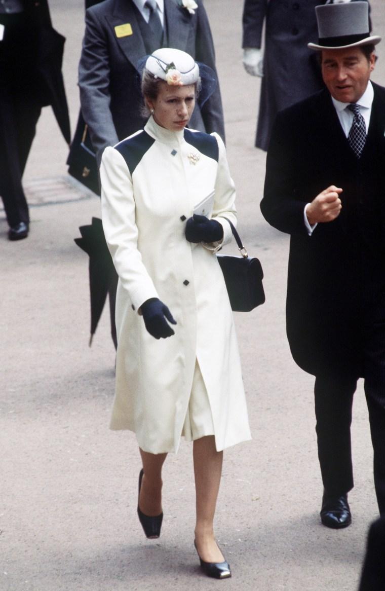 Princess Anne in 1985