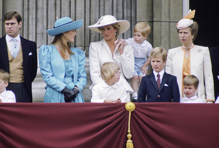 Royal Family At Trooping The Color