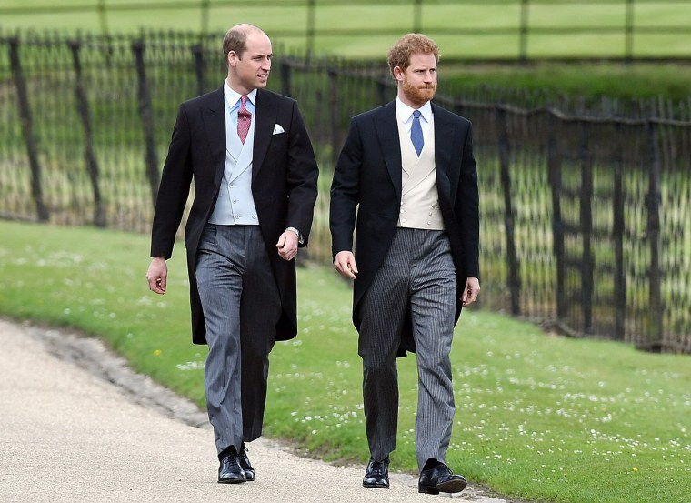 "Prince William is expected to be a ""supporter"" in the wedding of his brother Prince Harry"