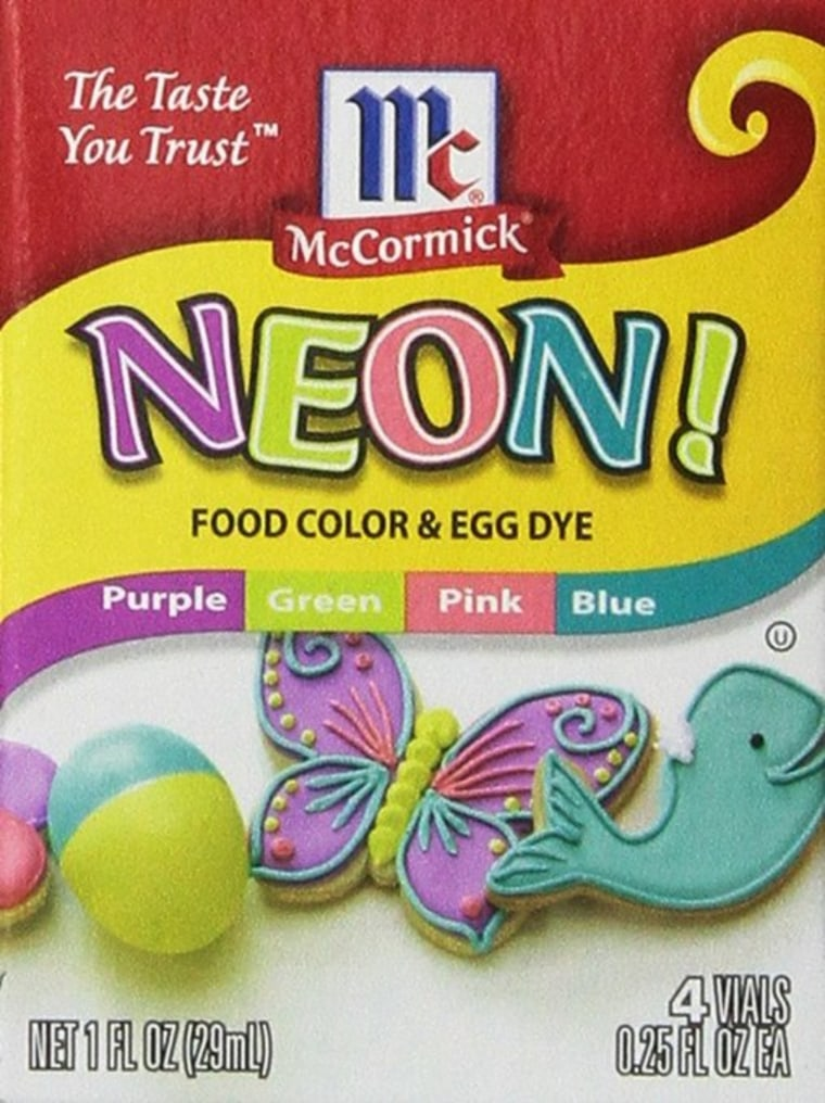 Neon Food Coloring Dye