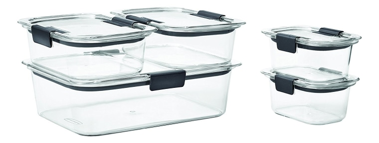 Plastic Storage Containers Rubbermaid