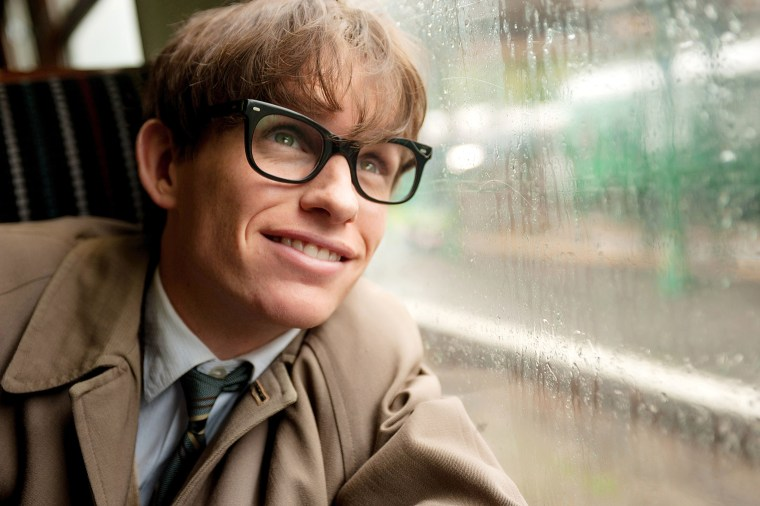 THE THEORY OF EVERYTHING, Eddie Redmayne as Stephen Hawking, 2014