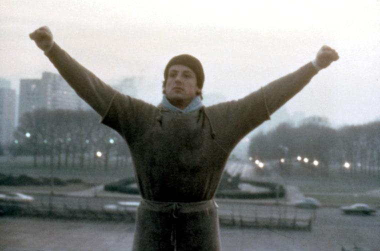 ROCKY, Sylvester Stallone, 1976.