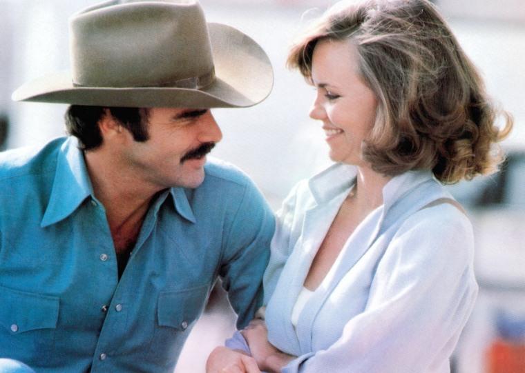 SMOKEY AND THE BANDIT II, from left, Burt Reynolds, Sally Field, 1980