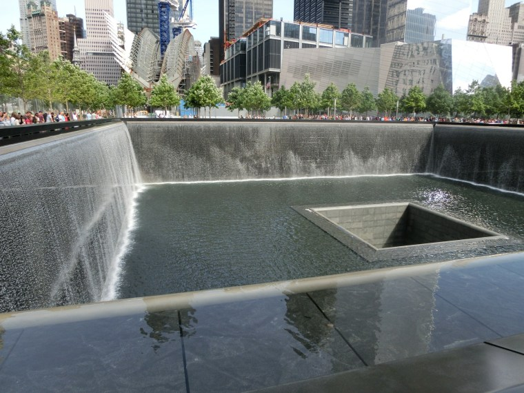9/11 Memorial at Ground Zero