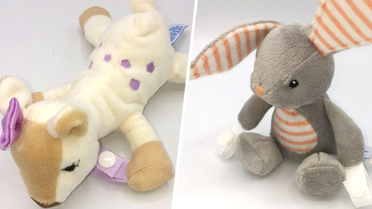 Handi-Craft Recalls Dr. Brown's Lovey Pacifier & Teether Holders Due to Choking Hazard