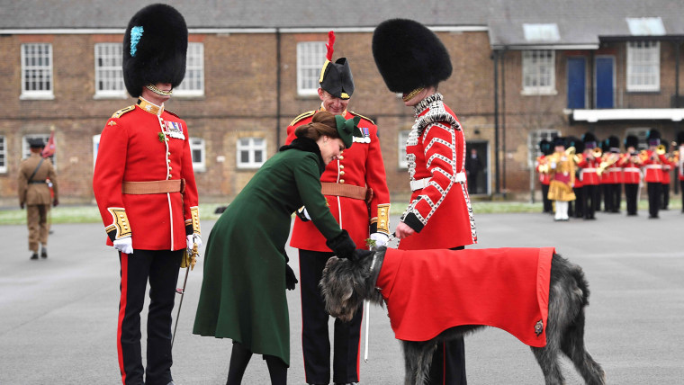 Image: BRITAIN-ROYALS-MILITARY-FESTIVAL-ST PATRICK'S