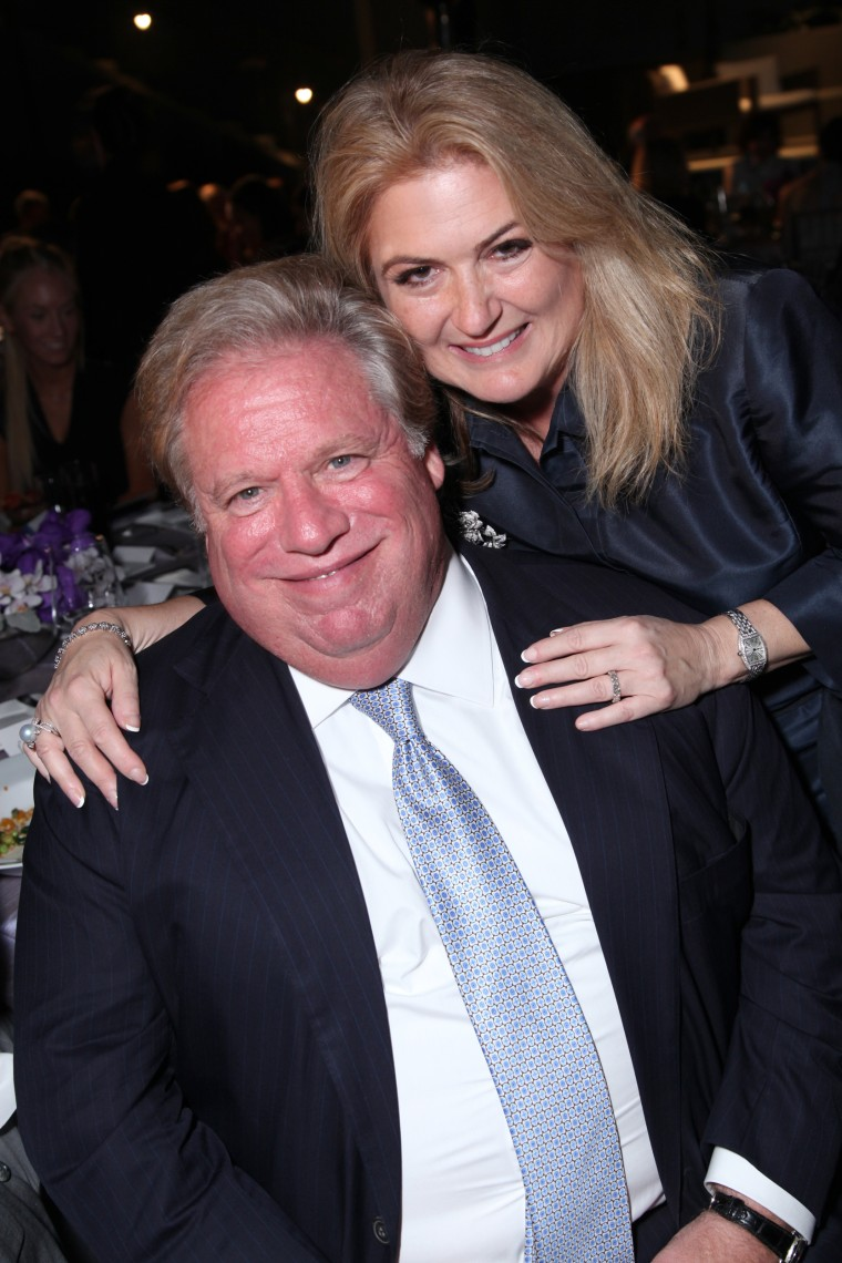 "Image: Elliott Broidy and Robin Broidy attend as American Ballet Theater celebrates ""Stars Under the Stars,"" a benefit evening at the home of  Jeanne & Anthony Pritzker in Beverly Hills, California, on Sep. 6, 2012."