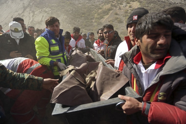 Image: Turkish jet crash