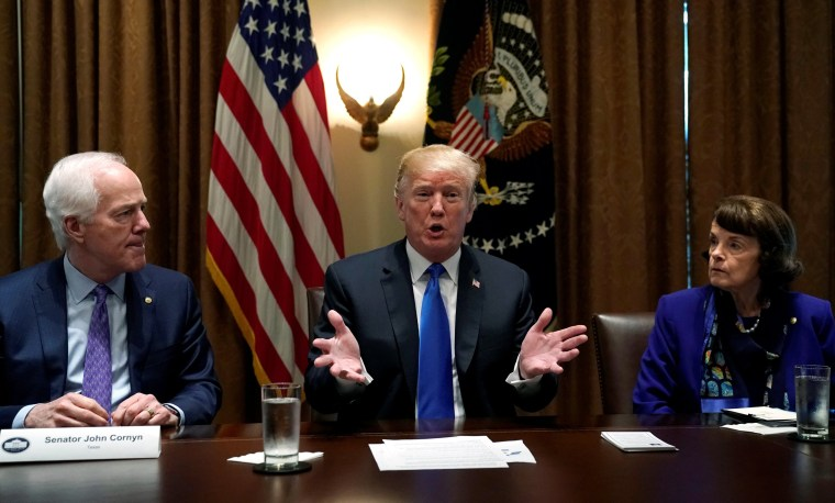 Image: Trump holds a meeting about school and community safety