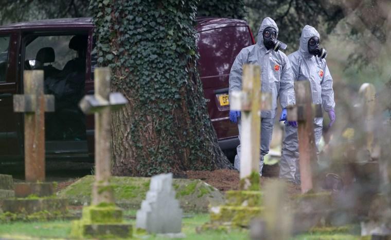 Image: England poisoning investigation