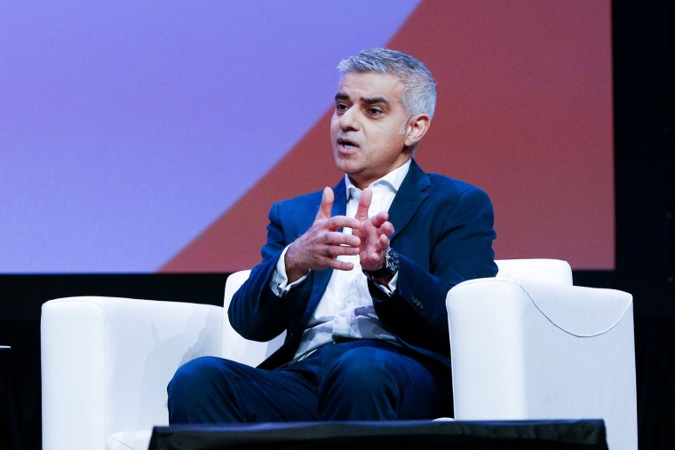 Image: Sadiq Khan speaks at the South by Southwest festival in Austin