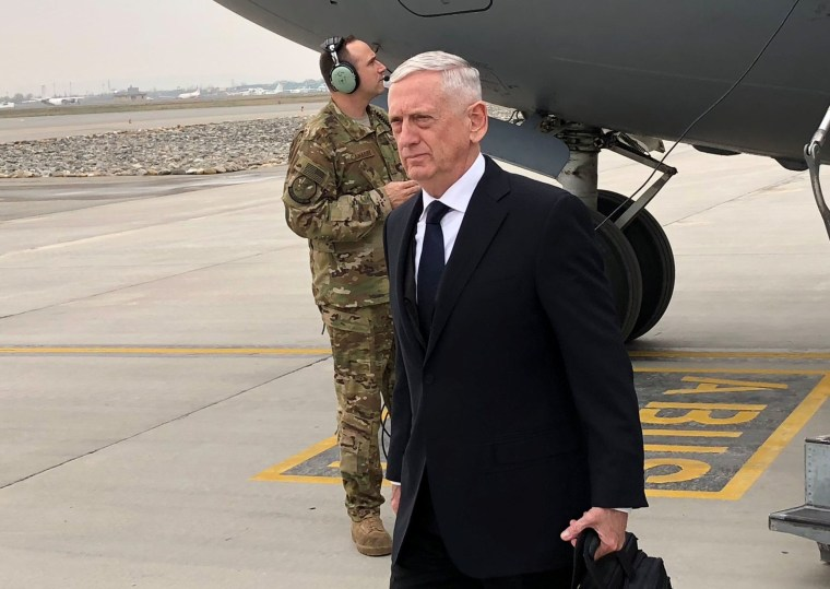 Image: U.S. Defense Secretary Jim Mattis