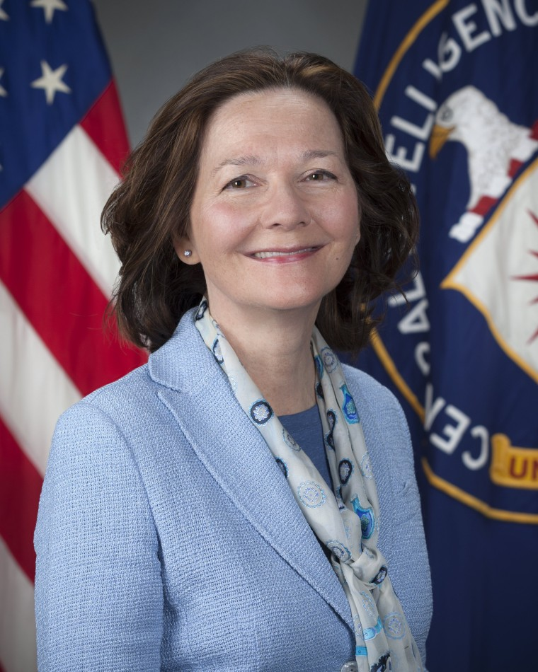 Image: Gina Haspel named as CIA director