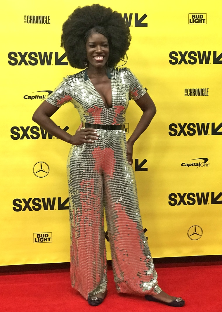 Image: Bozoma Saint John, Uber's chief brand officer, at SXSW in Austin, Texas on March 12, 2018.