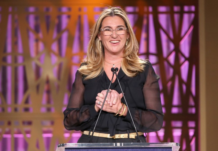 Image: Nancy Dubuc speaks onstage at The Hollywood Reporter's 2017 Women In Entertainment Breakfast