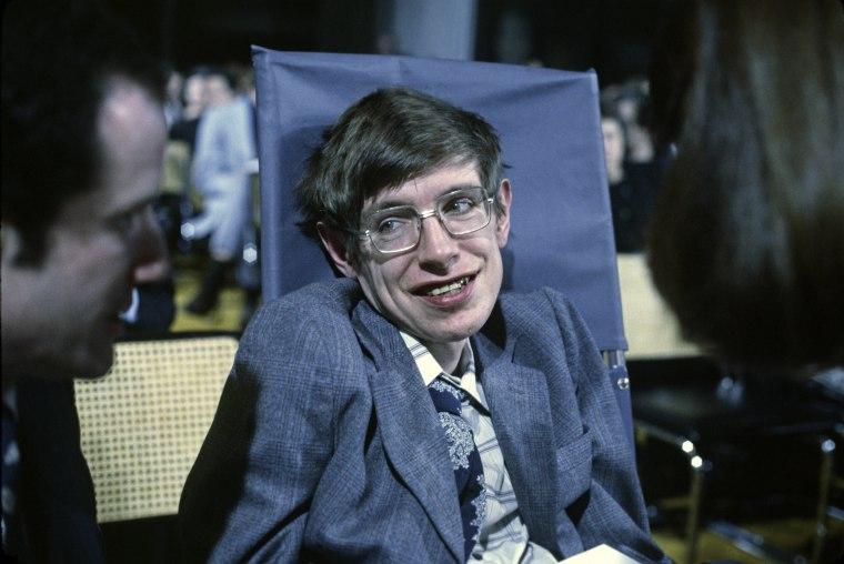 Image: Cosmologist Stephen Hawking