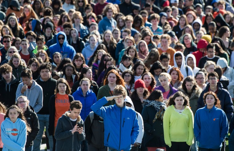 Image: US-POLITICS-GUNS-SCHOOLS-PROTEST