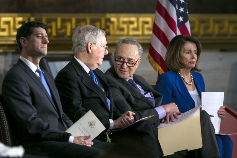 President Trump Attends Congressional Gold Medal Ceremony For Former Senate Majority Leader Bob Dole