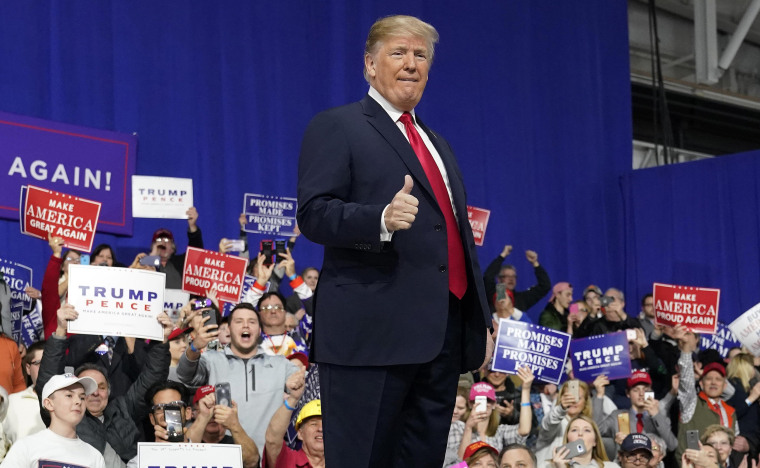 Image: Donald Trump at Rick Saccone Rally