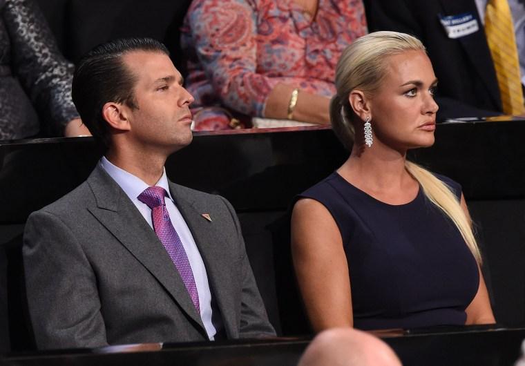 Image: Donald Trump Jr. and Vanessa Trump