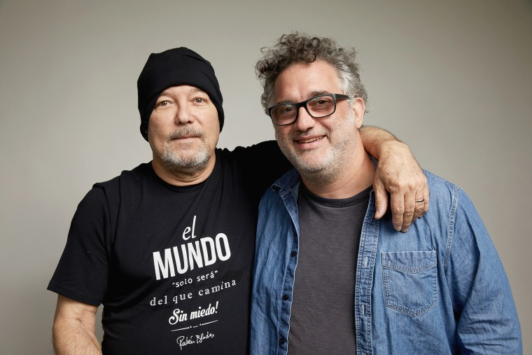 Image: Director Abner Benaim and Ruben Blades