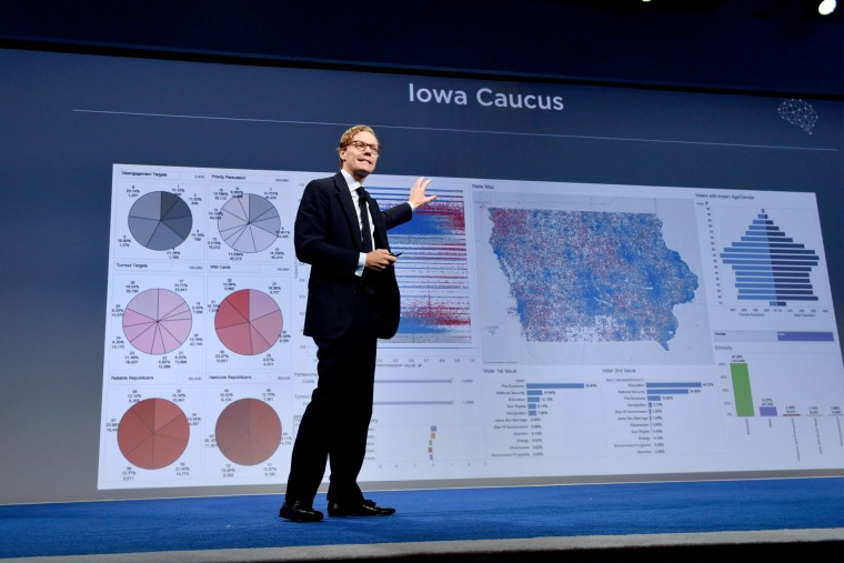 Image: CEO of Cambridge Analytica Alexander Nix speaks at the 2016 Concordia Summit - Day 1 at the Grand Hyatt New York on Sep. 19, 2016 in New York City.