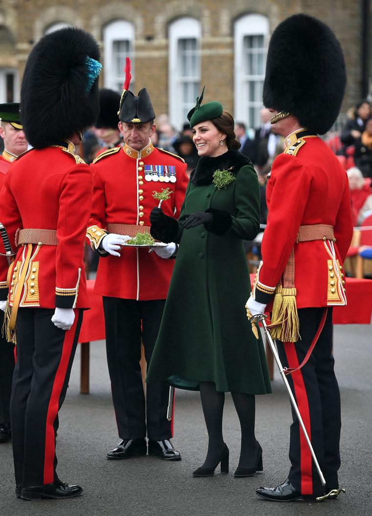 Image: Britain's Catherine, Duchess of Cambridge