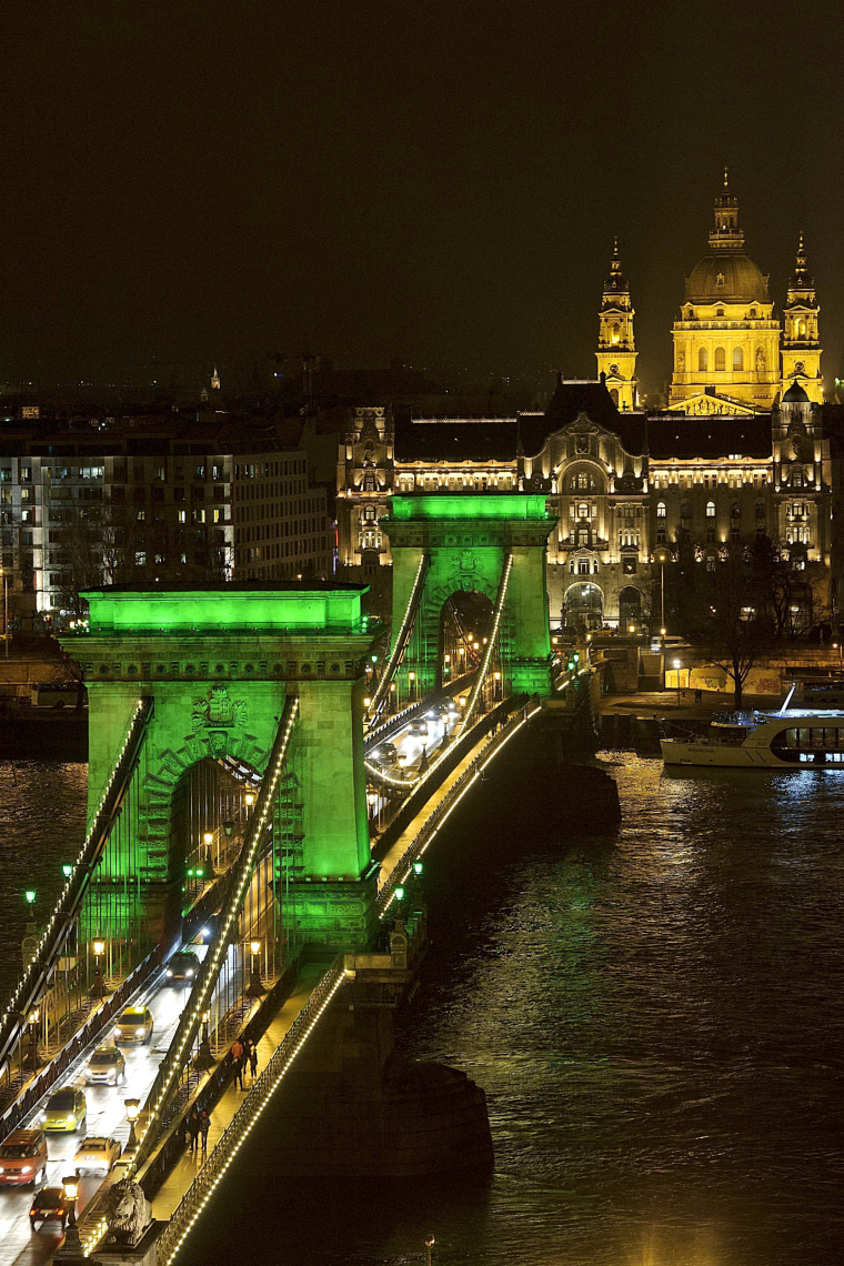 Image: Saint Patrick's Day in Budapest