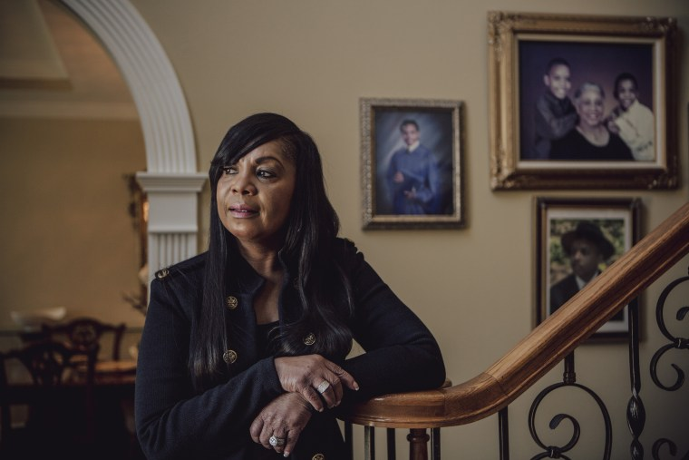 Image: Cheri Gardner, a candidate for Jefferson County Court Clerk, stands for a portrait at her home in Birmingham, March 14, 2018. African-American women are running in higher numbers in Jefferson County, Aabama.