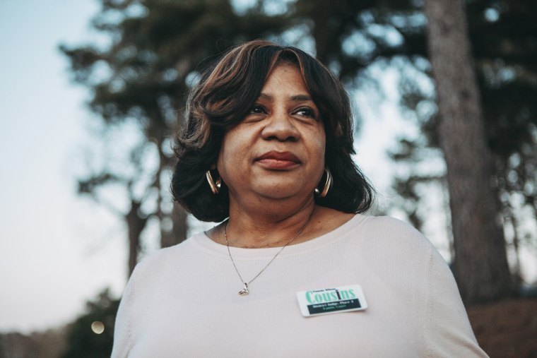 Image: Pamela Wilson Cousins, a candidate for district judge in Jefferson County, stands for a portrait, March 13, 2018. African-American women are running in higher numbers in Jefferson County, Alabama.