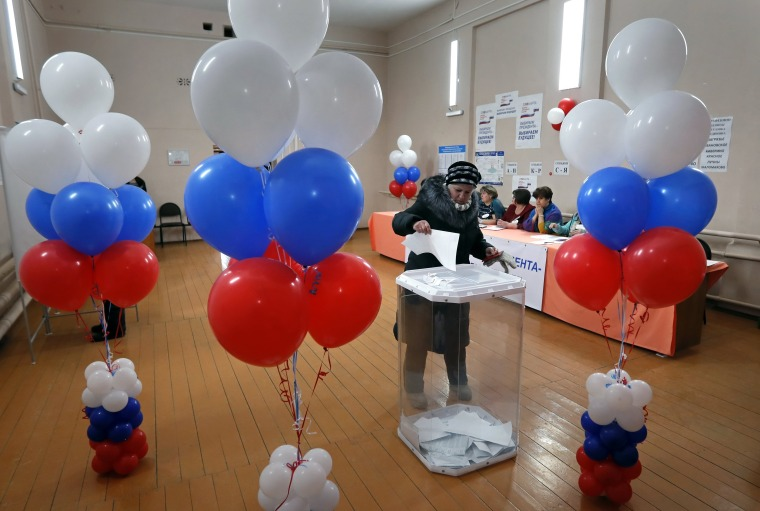 Image: Presidential elections in Russia