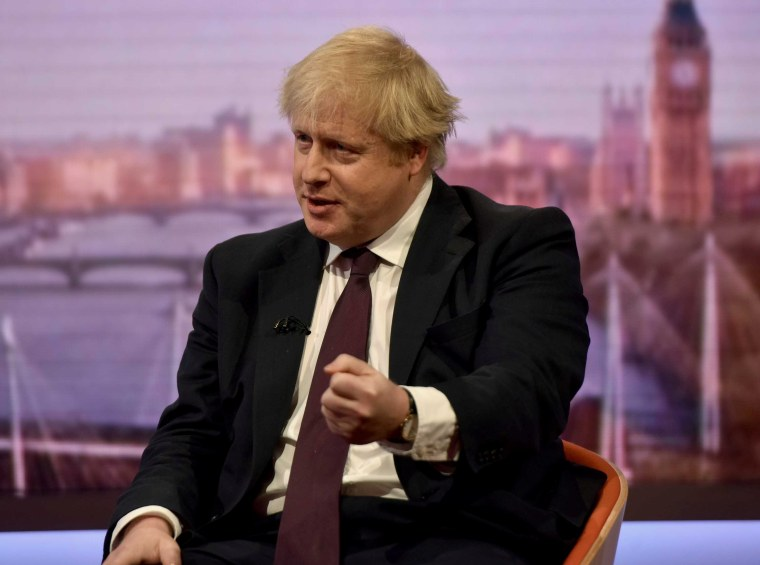 Image: Britain's Foreign Secretary Boris Johnson