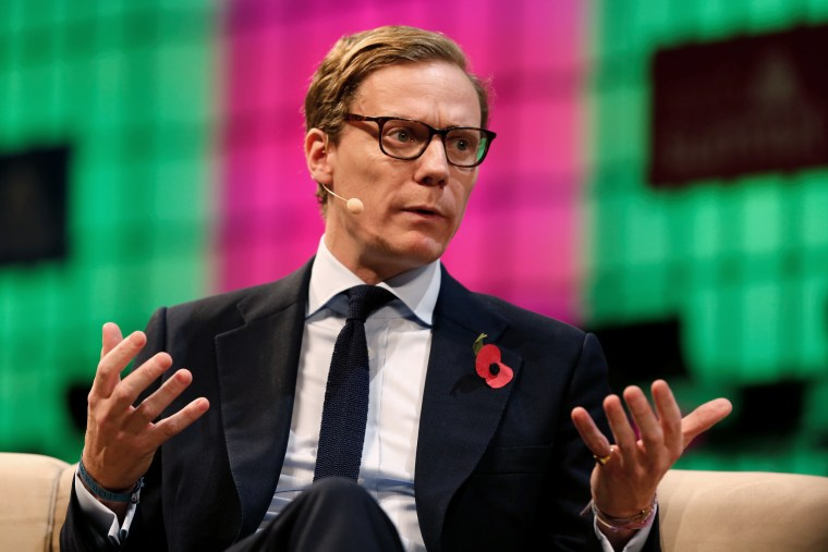 Image: Cambridge Analytica CEO Alexander Nix speaks during the Web Summit