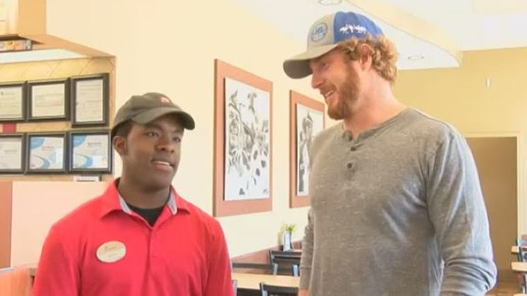 Texas Chick-fil-A surprises customer with kind gesture