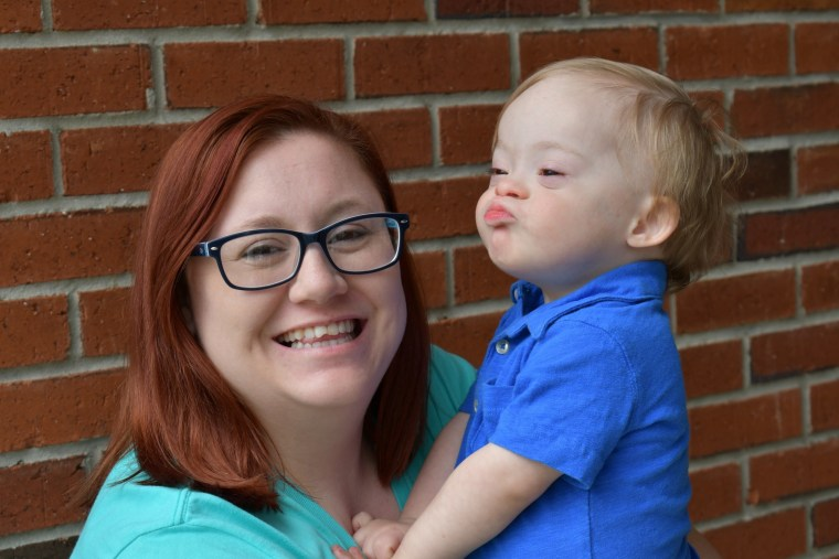 Mom of Gerber baby with Down syndrome shares advice