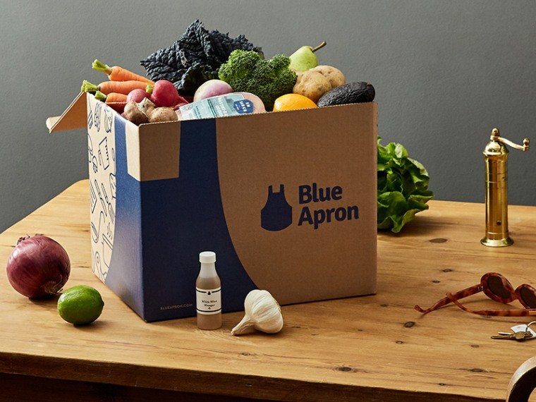 Blue Apron Meal Kit Delivery