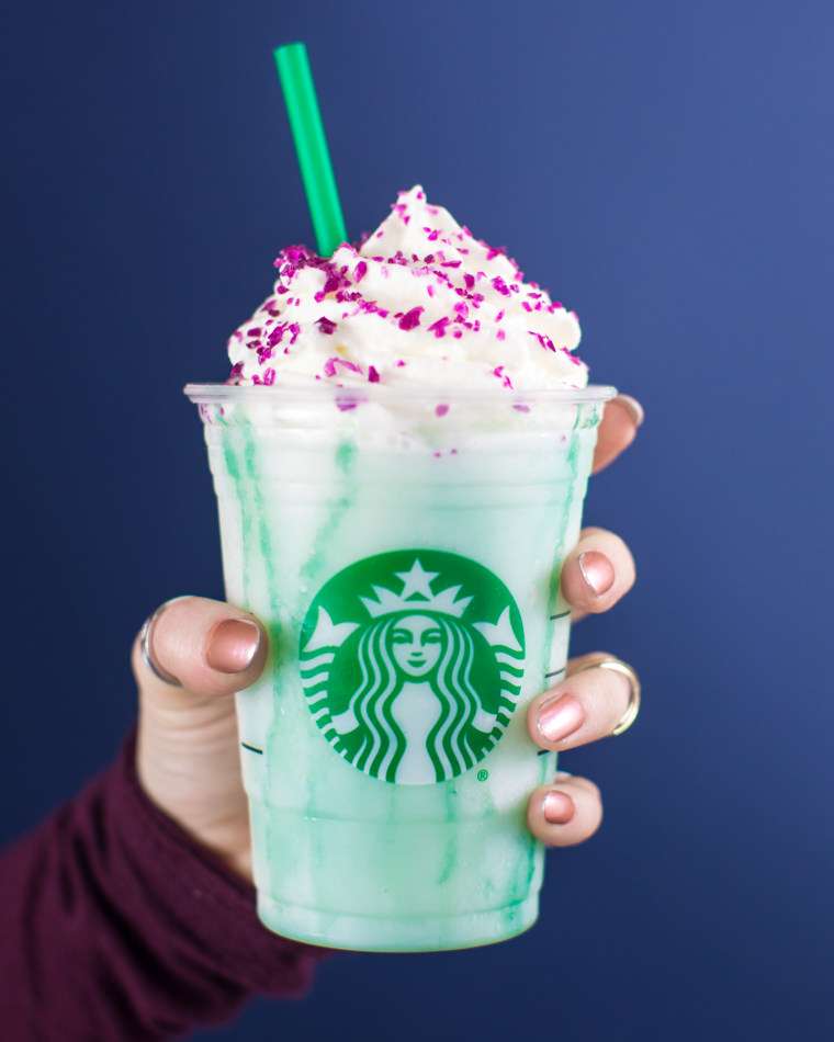 Starbucks Launches Crystal Ball Frappuccino With Different Colors