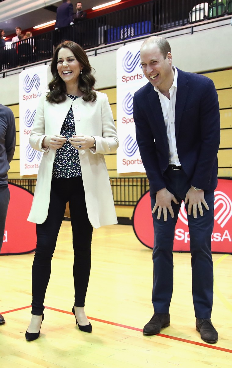 The Duke And Duchess of Cambridge, Prince William and former Kate Middleton, celebrate the Commonwealth