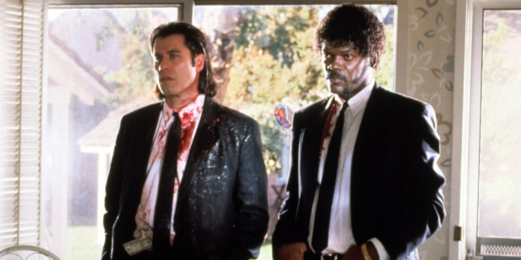 PULP FICTION, John Travolta, Samuel L. Jackson, 1994